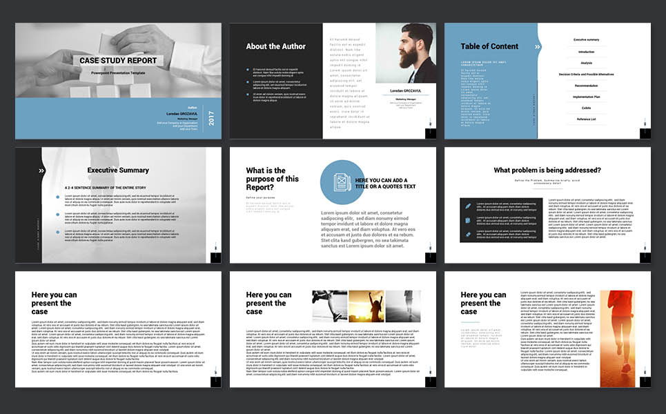 Powerpoint Business Case Template