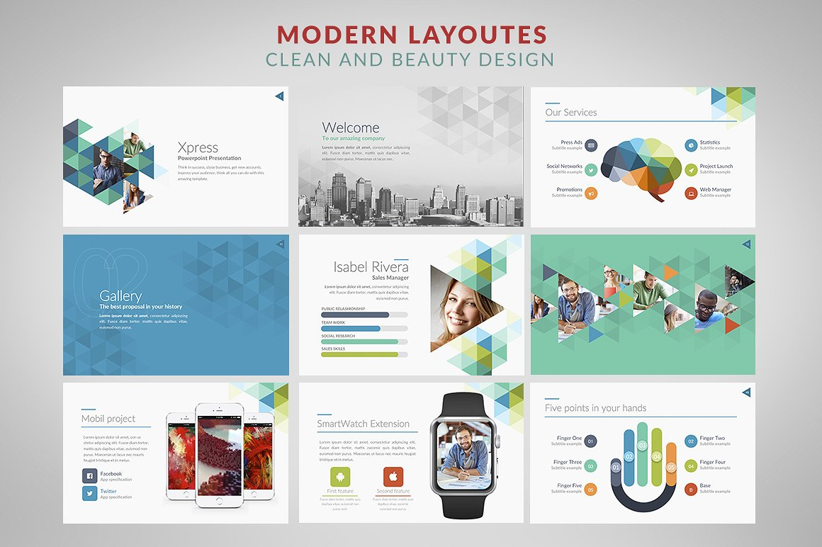 Free Beautiful Powerpoint Templates