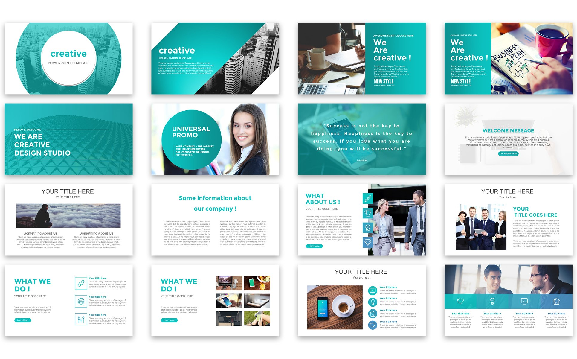 Powerpoint Create Template