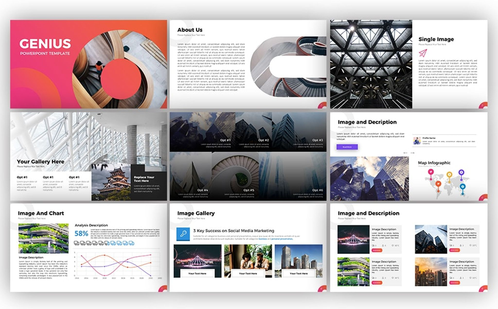 Template design powerpoint