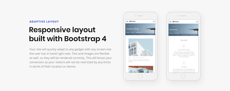 R&CO - Architecture and Construction Website Template - Features Image 5