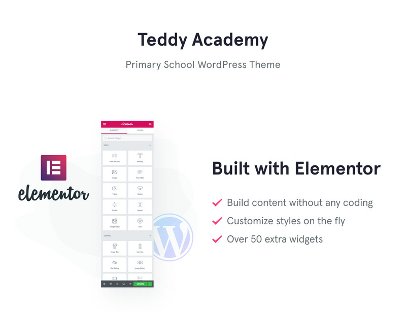 Teddy Academy - Primary School WordPress Elementor Theme - Features Image 7