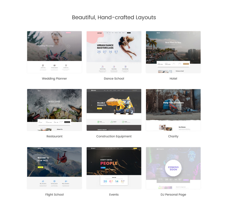 Crafter - Multipurpose Modern Bootstrap 4 Website Template - Features Image 3