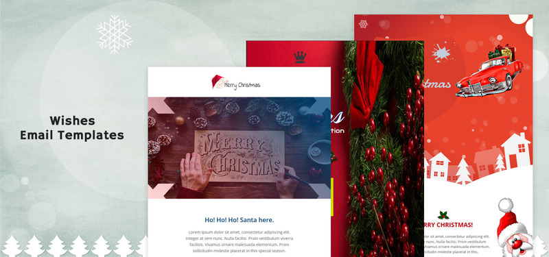 Merry Xmas Responsive Newsletter Template - Features Image 1