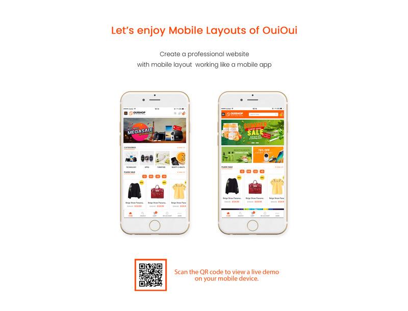 OuiOui - Multi Vendor MarketPlace Elementor WooCommerce Theme - Features Image 2