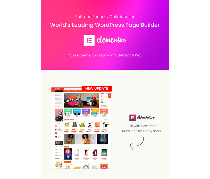 OuiOui - Multi Vendor MarketPlace Elementor WooCommerce Theme - Features Image 3