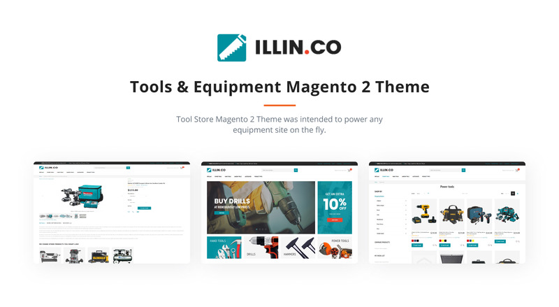 Illin.co - Tools & Equipment Magento Theme - Features Image 3