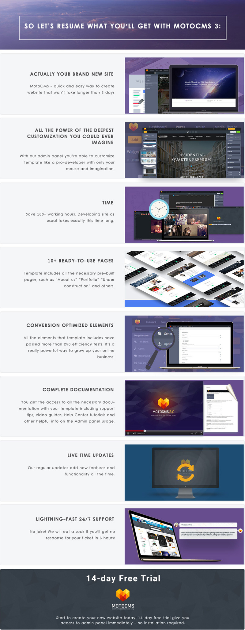 Photography Studio Photo Gallery Template - Features Image 6