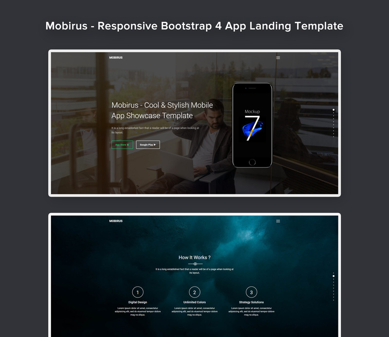 Mobirus - Responsive Bootstrap 4 App Landing Page Template - Features Image 1