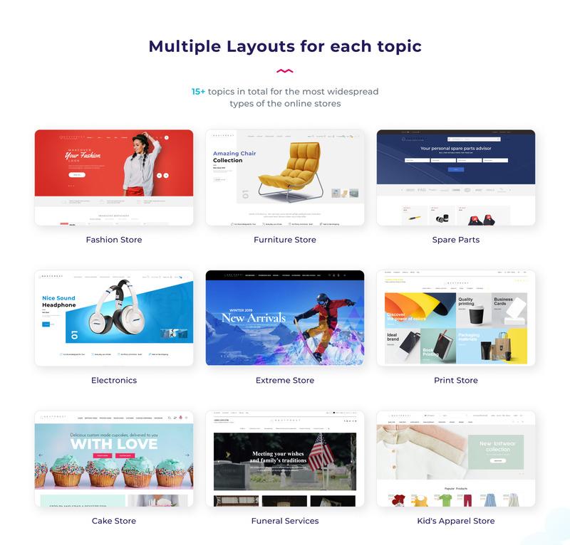 Nextprest  - Website Ecommerce Online Store PrestaShop Theme - Features Image 4