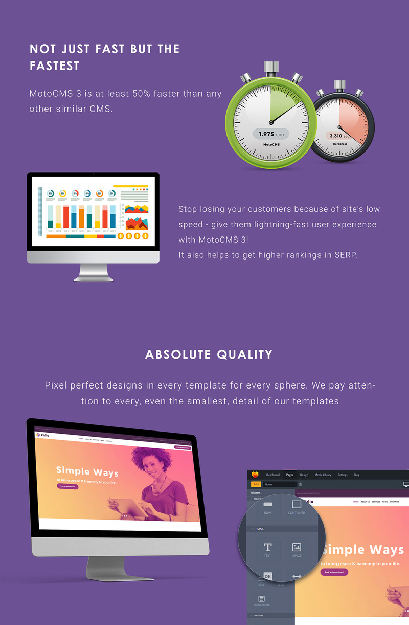 Calio - Psychology Moto CMS 3 Template - Features Image 4