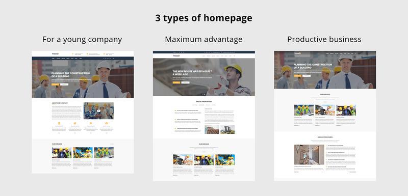 Trowel - Construction WordPress Theme - Features Image 2