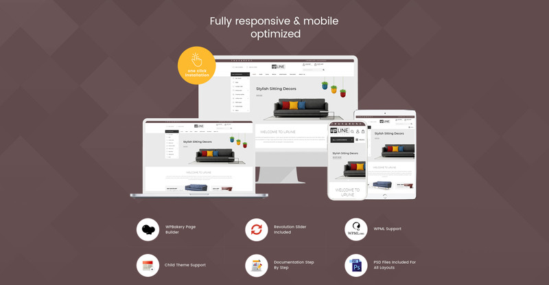 UpLine - Furniture Online Store WooCommerce Theme - Features Image 1