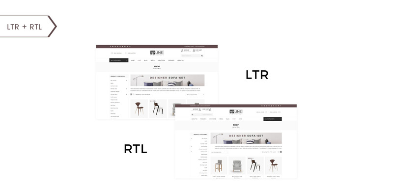 UpLine - Furniture Online Store WooCommerce Theme - Features Image 2