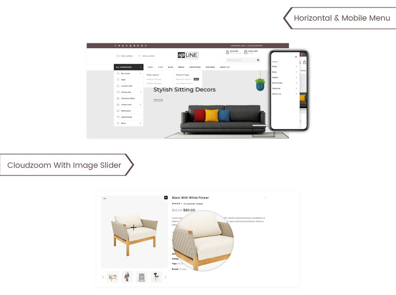 UpLine - Furniture Online Store WooCommerce Theme - Features Image 3