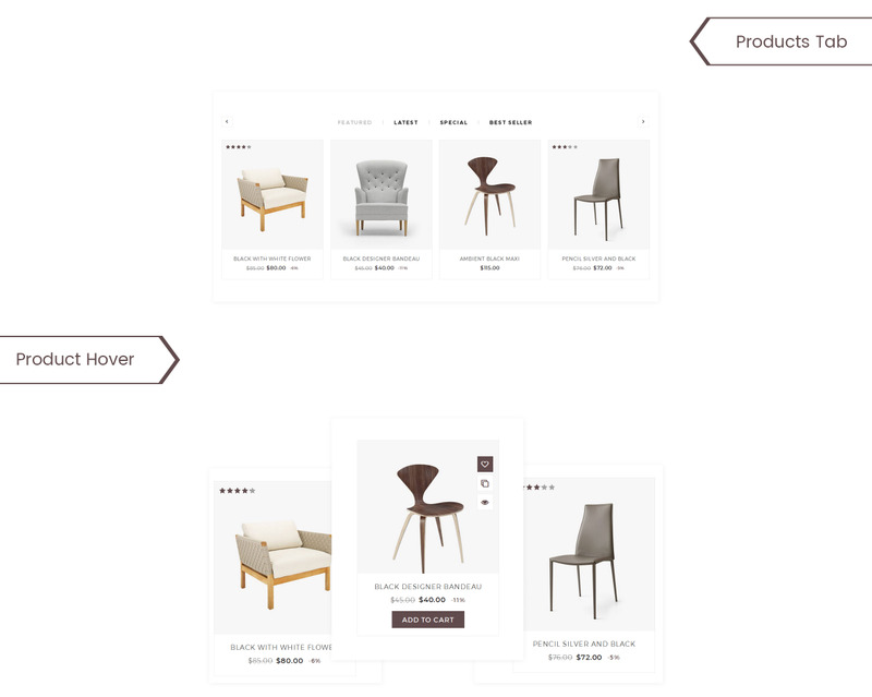 UpLine - Furniture Online Store WooCommerce Theme - Features Image 4