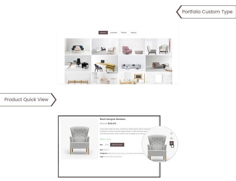 UpLine - Furniture Online Store WooCommerce Theme - Features Image 5