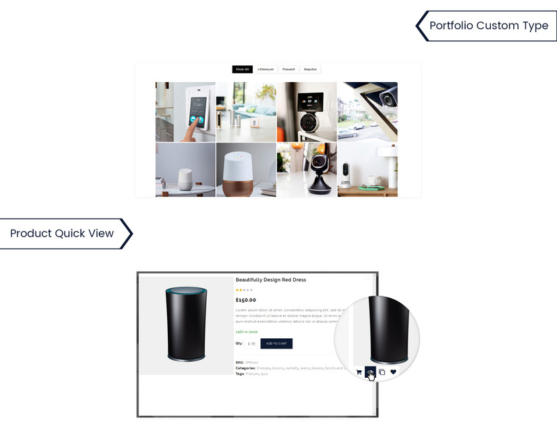 UpStar Multipurpose Store WooCommerce Theme - Features Image 6