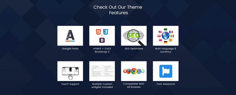 UpStar Multipurpose Store WooCommerce Theme - Features Image 8