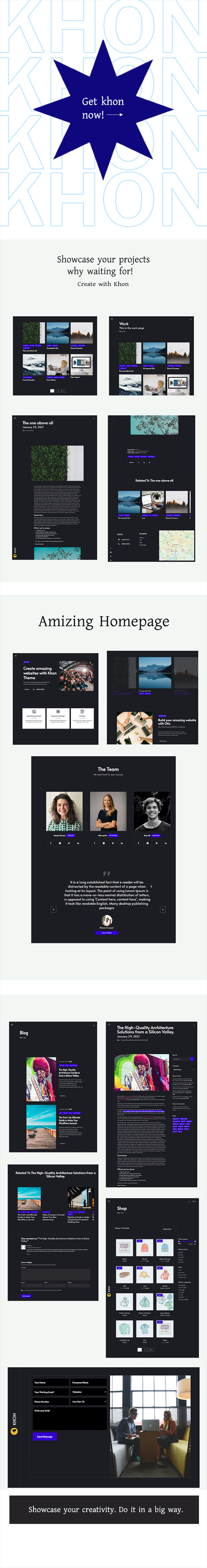Khon - Creative Agency WordPress Theme - Features Image 1