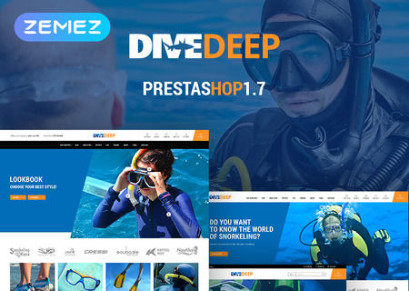 DiveDeep - Snorkeling Equipment