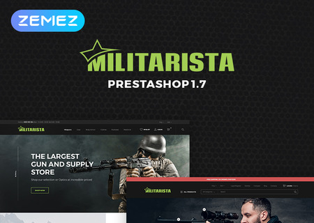 Militarista - Weapons Store