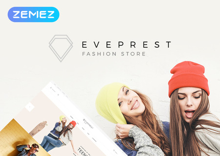 Eveprest Fashion 1.7 - Fashion Store
