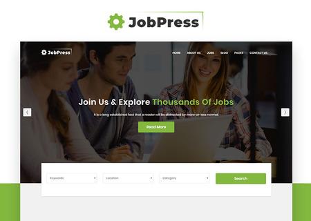 JobPress - Jobs Directory & Listing