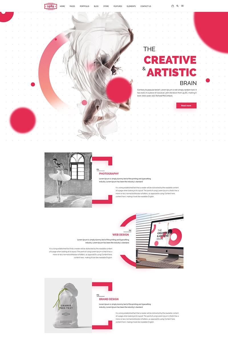 PSD Vorlage #64991 für Architektur