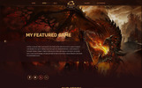 Gamepro - Fantastic Blog PSD Template for GAME SITES PSD Template