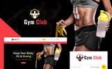 """Gym Club"" thème PrestaShop adaptatif"