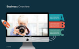 Business Think PowerPoint Template