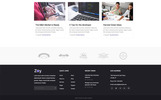Zoy - Minimal and Creative SaaS Landing Page Template