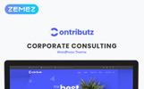 Contributz - Tema WordPress para Elementor para sitio de consultoría de empresas