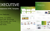 Executive - Multipurpose HTML Website Template