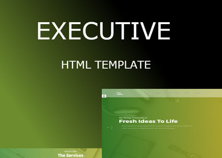 Executive - Multipurpose HTML