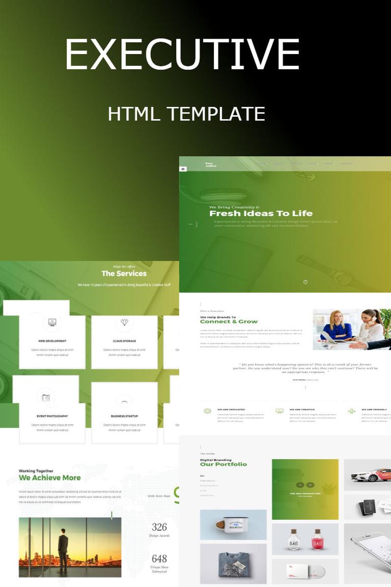 Executive - Multipurpose HTML Website Template