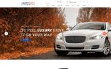 Modèle Web adaptatif  pour site de revendeur automobile