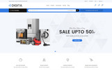 "PrestaShop Theme namens ""Digita - Electronics"""