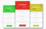 Minimal - Elementos Infográficos para Tablas de Precios