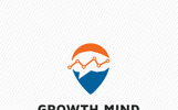 Growth Mind Logo Template