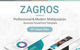 """PowerPoint Vorlage namens """"Zagros"""""""