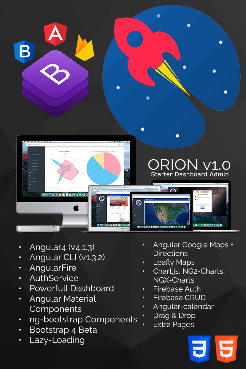 ORION Simple Angular 4, Bootstrap 4, Firebase and Material ...