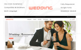 """Wedding Collection Store"" thème OpenCart adaptatif"