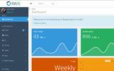 Template Admin Bootstrap #65110 per Un Sito di Servizi Commerciali