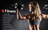 Fitness -  Parallax Landing Page Template