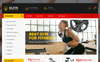 """Elite Power Gym Store"" - PrestaShop шаблон New Screenshots BIG"