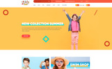 Kids - Lovely design for Baby Fashion and Stores PSD-mall