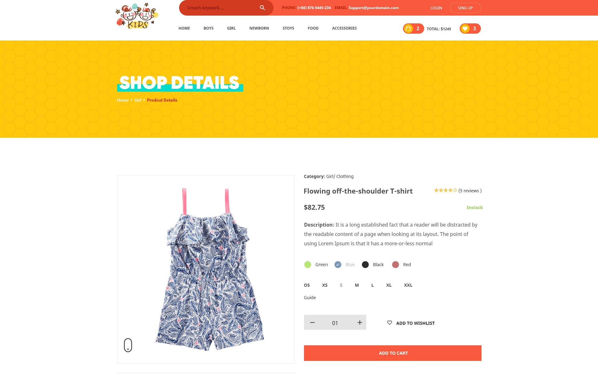 Kids lovely design for baby fashion and stores psd template 65006 kids lovely design for baby fashion and stores psd template big screenshot pronofoot35fo Images