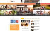 MediaTel - Online Magazine PSD Template